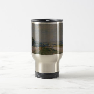 Alfred Sisley -Le Chemin de Montbuisson à Louveci Stainless Steel Travel Mug
