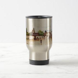 Alfred Sisley Moret am Loing im Regen 1887-1888 Coffee Mugs