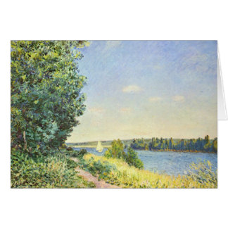 Alfred Sisley Normandy Path Card