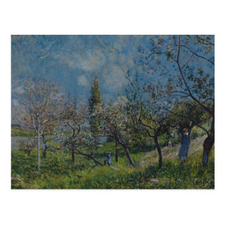 Alfred Sisley - Orchard in Spring, By Postcard