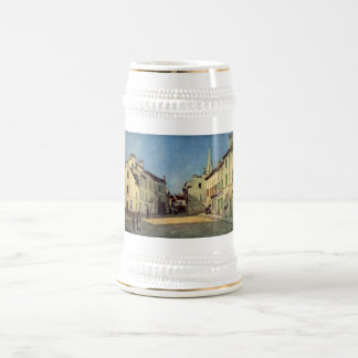 Alfred Sisley - Platz in Argenteuil 1872 Oil Print Mug