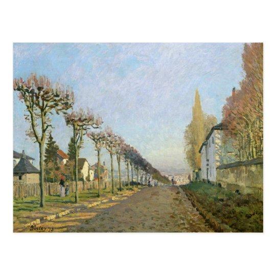 Alfred Sisley   Rue de la Machine, Louveciennes Postcard