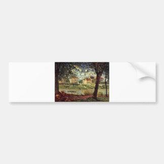 Alfred Sisley -  Seine bei Saint-Mammès 1884 Bumper Sticker