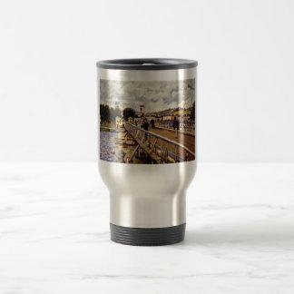 Alfred_Sisley Steg in Argenteuil 1872 Oil Bridge Mug