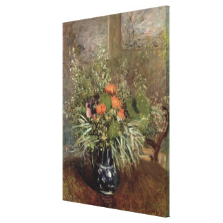 Alfred Sisley | Still Life of Wild Flowers Canvas Print