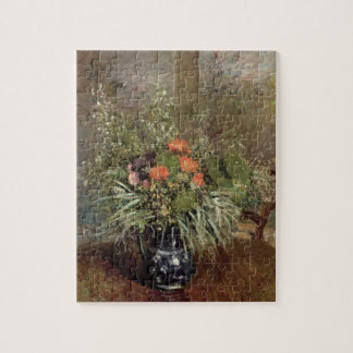 Alfred Sisley | Still Life of Wild Flowers Jigsaw Puzzle