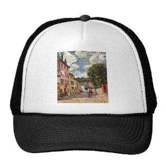 Alfred Sisley - Straße in Moret-Sur-Loing 1892 Cap
