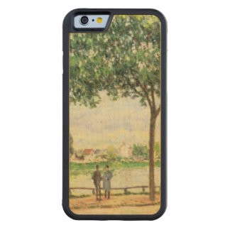 Alfred Sisley | Street of Spanish Chestnut Trees Carved Maple iPhone 6 Bumper Case