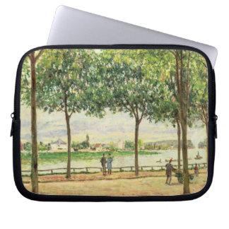 Alfred Sisley | Street of Spanish Chestnut Trees Laptop Sleeve