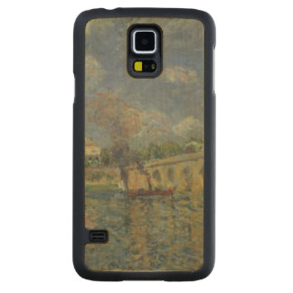 Alfred Sisley | The Bridge Carved Maple Galaxy S5 Case