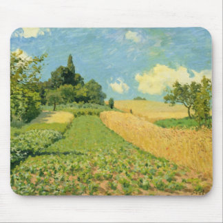 Alfred Sisley | The Cornfield Mouse Pad
