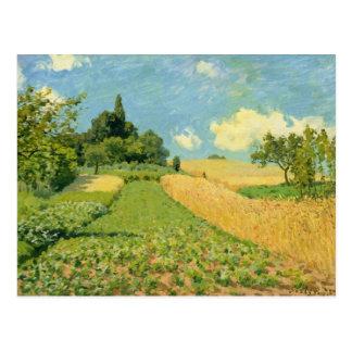 Alfred Sisley | The Cornfield Postcard