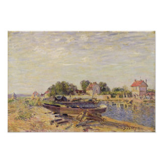 Alfred Sisley | The Loing at Saint-Mammes Poster