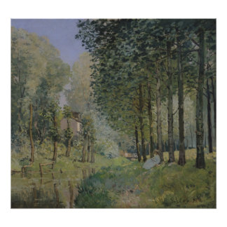 Alfred Sisley | The Rest by the Stream Poster