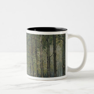 Alfred Sisley | The Rest by the Stream Two-Tone Coffee Mug