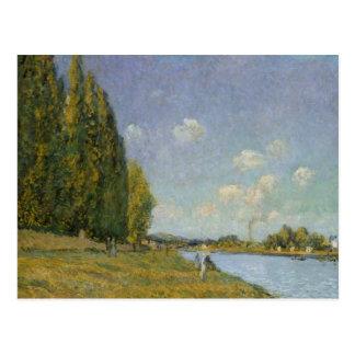 Alfred Sisley | The Seine at Billancourt Postcard