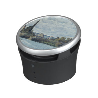 Alfred Sisley | The Seine at Bougival Bluetooth Speaker