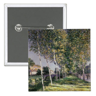 Alfred Sisley | The Walk 15 Cm Square Badge