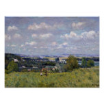 Alfred Sisley | Valley of the Seine at St-Cloud Poster