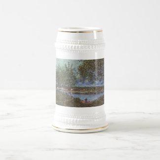 Alfred Sisley Weg der alten Fähre in By 1880 Beer Steins