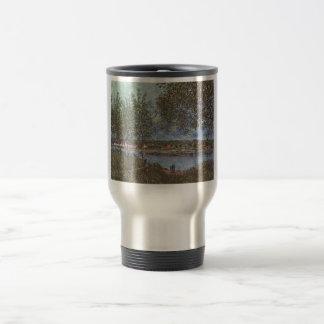 Alfred Sisley Weg der alten Fähre in By 1880 Stainless Steel Travel Mug