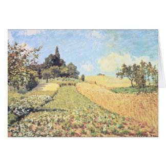 Alfred Sisley | Wheat Field Card