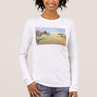 Alfred Sisley | Wheat Field Long Sleeve T-Shirt