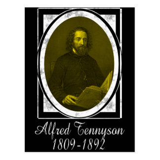 Alfred Tennyson Postcard