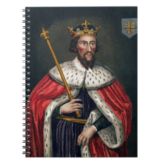 Alfred the Great (849-99), after a painting in the Notebook