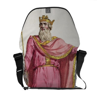 Alfred the Great (849-99) from 'Receuil des Estamp Commuter Bags