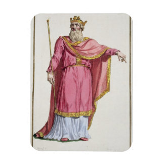 Alfred the Great (849-99) from 'Receuil des Estamp Magnets