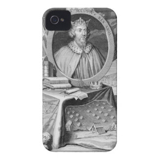 Alfred the Great (849-99) King of Wessex, engraved iPhone 4 Cases
