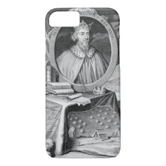 Alfred the Great (849-99) King of Wessex, engraved iPhone 7 Case
