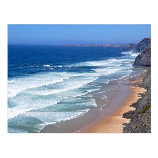 Algarve Beach, Portugal Postcard
