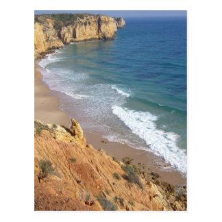 algarve coast postcard