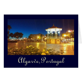 Algarve, Portugal Card