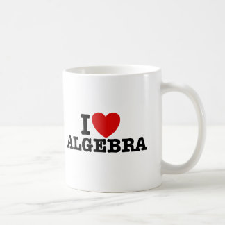 Algebra Basic White Mug