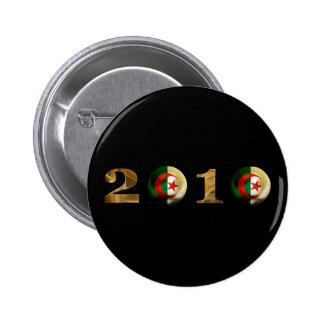 Algeria 2010 6 cm round badge