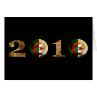 Algeria 2010 greeting card