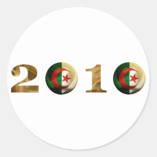 Algeria 2010 round sticker