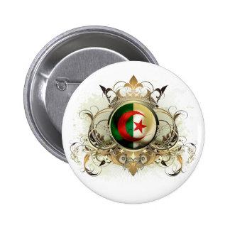 Algeria 6 Cm Round Badge