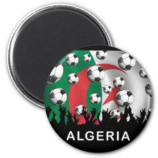 Algeria 6 Cm Round Magnet