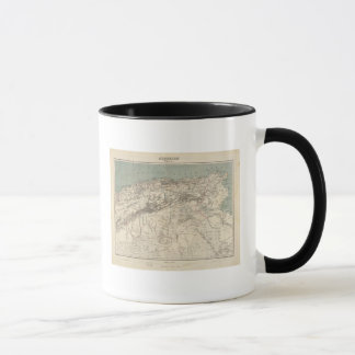 Algeria Atlas Map Mug