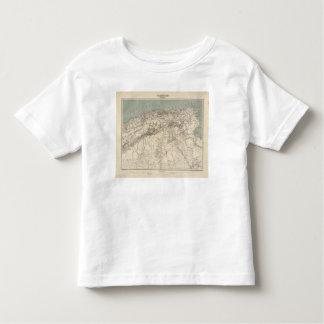 Algeria Atlas Map Toddler T-Shirt