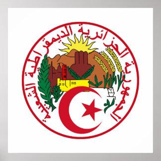 Algeria COA Poster