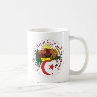 Algeria Coat of Arms detail Basic White Mug