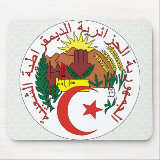 Algeria Coat of Arms detail Mouse Pads