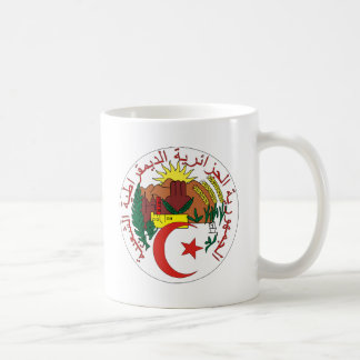 Algeria Coat of Arms detail Coffee Mug