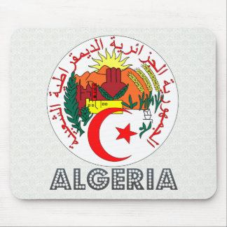 Algeria Coat of Arms Mouse Pads