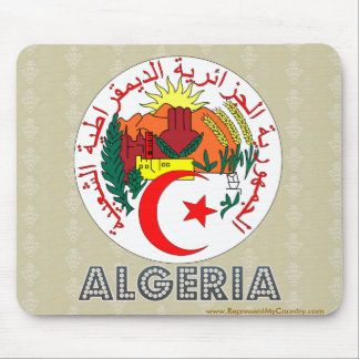 Algeria Coat of Arms Mouse Pad